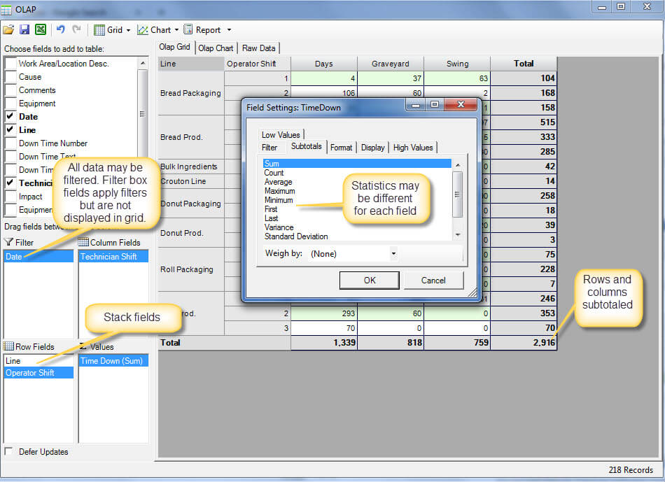 query builder cmms solution