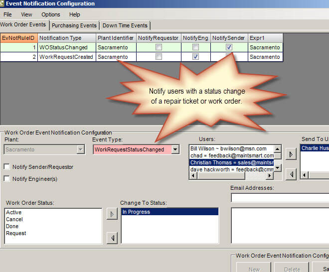 Maintenance Tracking Software | CMMS Software for Preventive