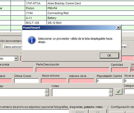 Spanish CMMS Software | Spanish Maintenance Management Software
