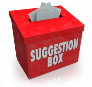 suggestion box for maintsmart