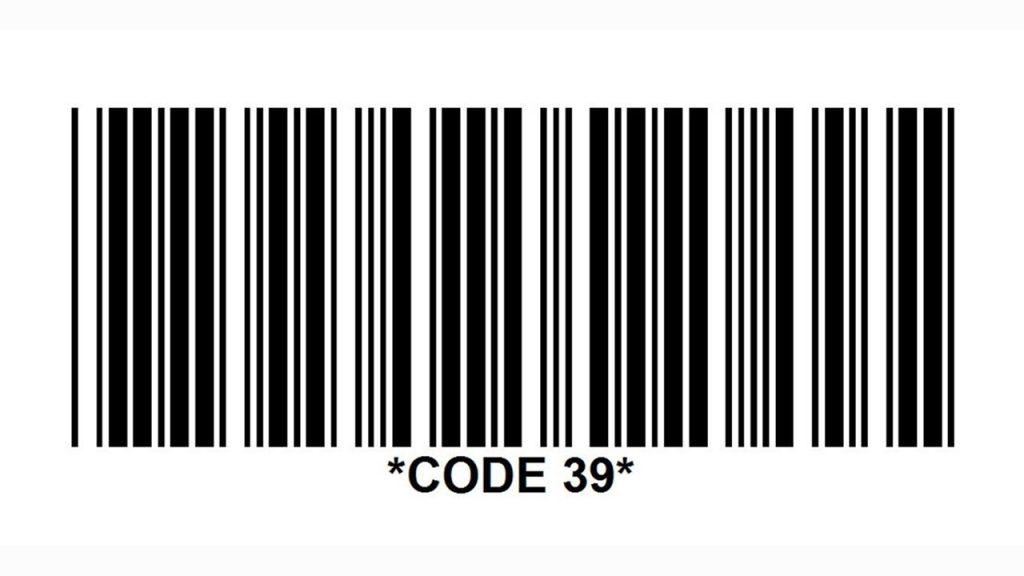 code 39 barcode font